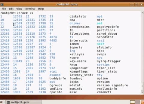 procfs Linux ( /proc ) – Network Engineer